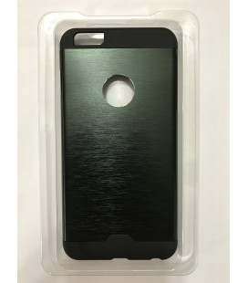 The iPhone 6s plus protective metal sheath is black masquerade