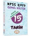 KPSS 2017 Genel Kültür Tarih Çözümlü 15 Deneme Sınavı Yediiklim