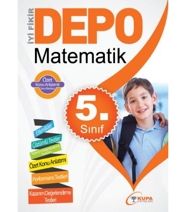 DEPO 5.Sınıf Matematik Yardımcı Ders Kitabı