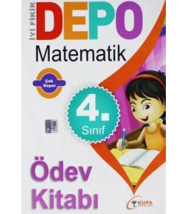Kupa Depo 4 Sınıf Matematik Ödev Kitabı