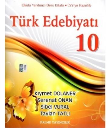 Palme 10. Sınıf Türk Edebiyatı Konu Anlatımlı